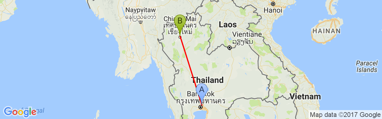virail-map-Don Mueang-Chiang Mai.png